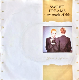 "Eurythmics ‎- Sweet Dreams (Are Made Of This) (7"") (EX-/VG+)"